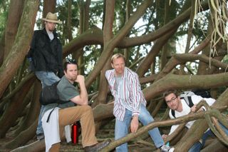 GEMStone's Male Models - (from left to right) John Battenfield, Walt Manis, Jim Meyer & the most handsome, My Hubby :)