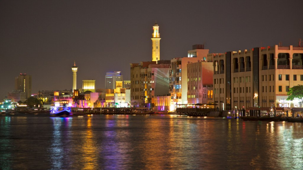 Dubai-Creek-at-Night1