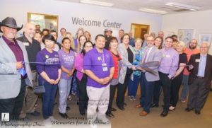 The Lakewood Chamber of Commerce officiated the official ribbon cutting with members of the chamber and CPTC staff and faculty. Photo courtesy of David Lobban, Lobban Photography.