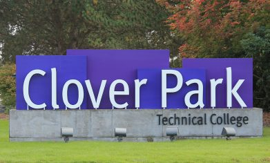 Clover Park Technical College sign