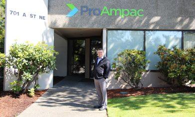 CPTC alum Joe Lydic works as the art director at ProAmpac in Auburn.