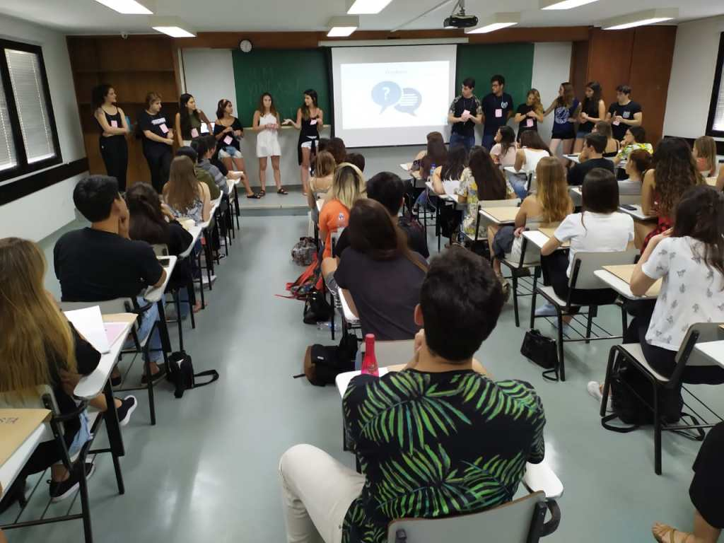 Alunos Einstein fazem Workshop para as MMEs no CPV