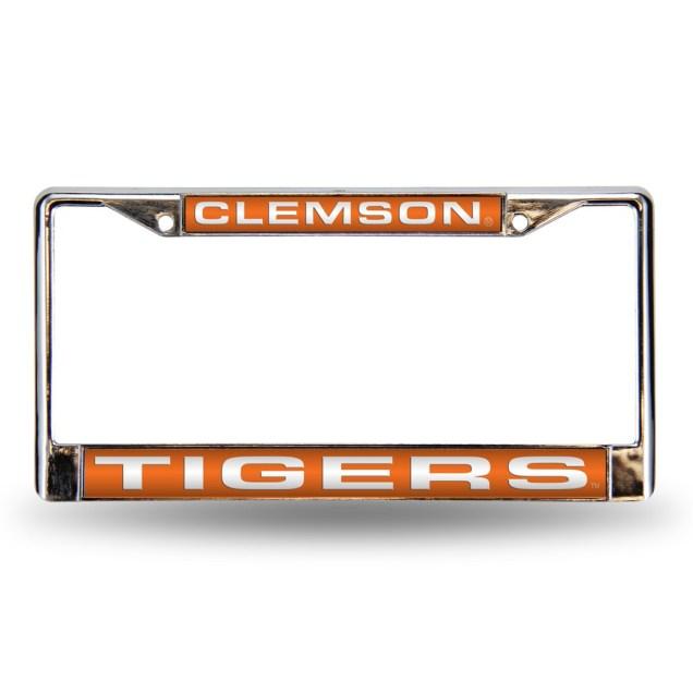 Laser License Plate Frame - Clemson