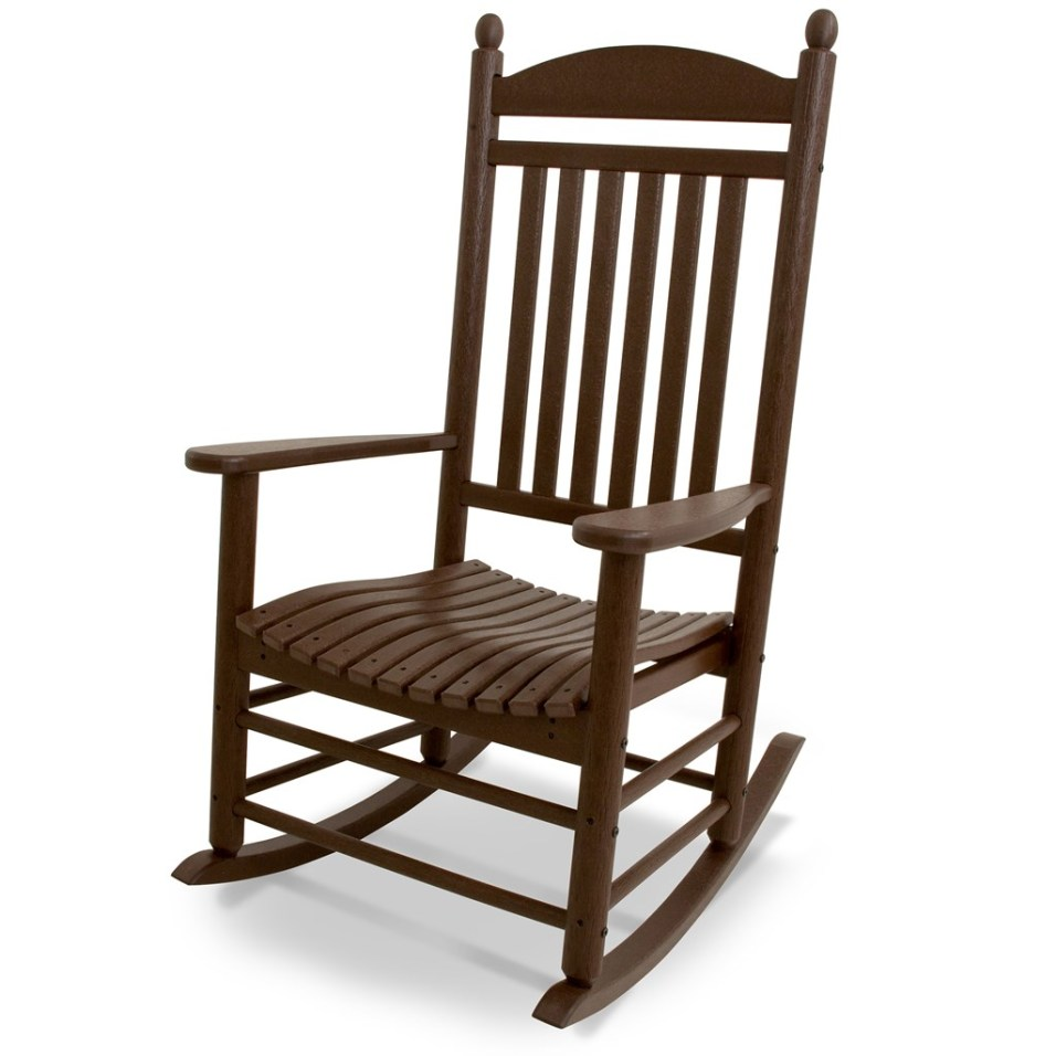 POLYWOOD ® All-Weather Jefferson Slat Rocker