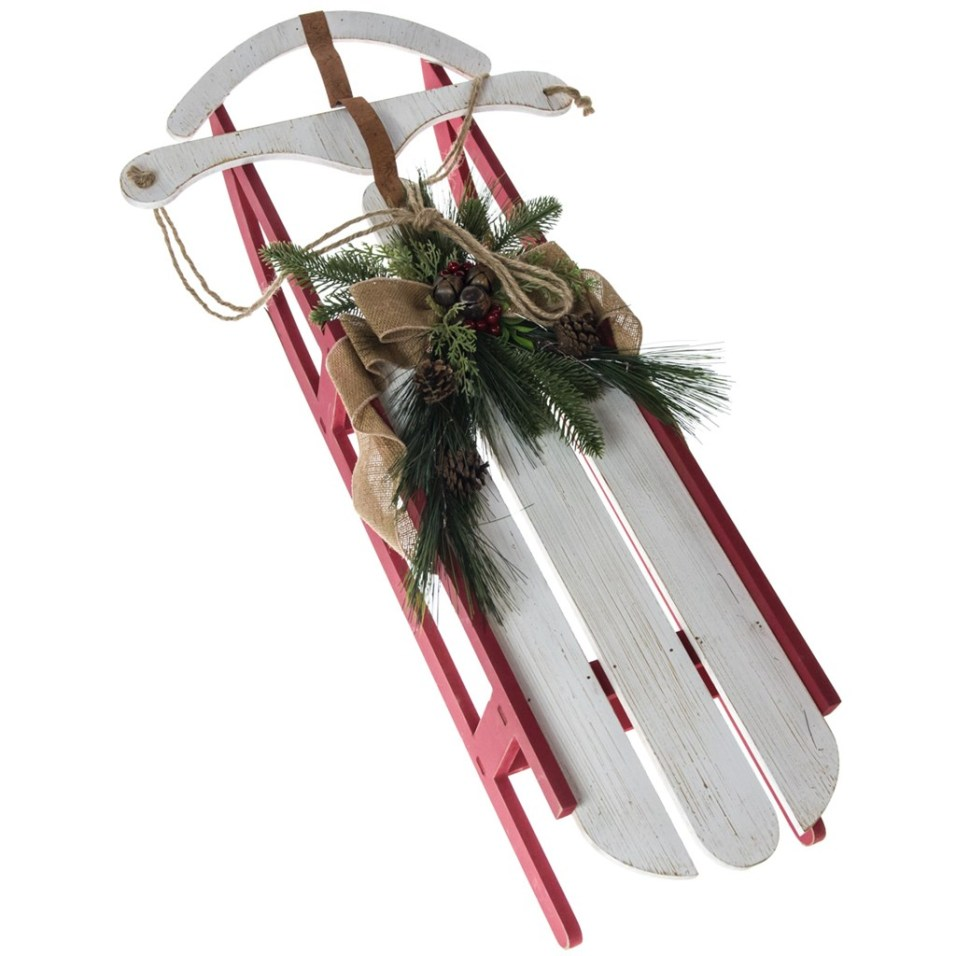 Decorative Wooden Sled