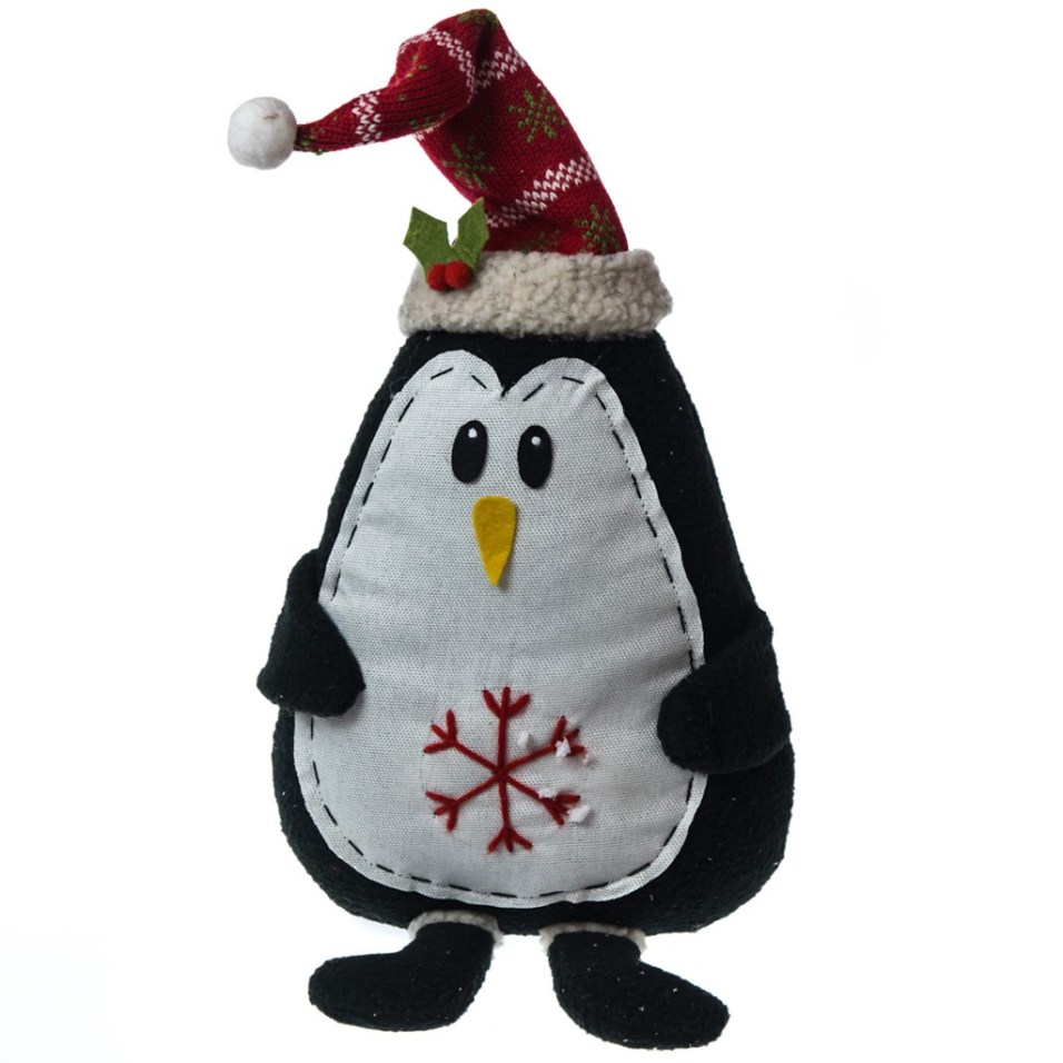 Fabric Penguin Sitter