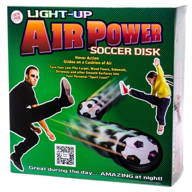 Light-Up Air Power Soccer Disc