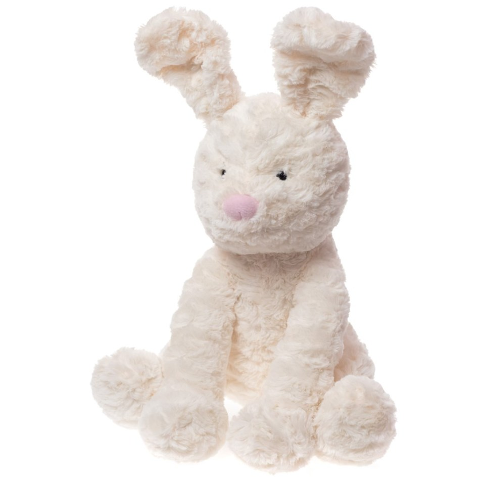 "12"" Cream Plush Bunny"