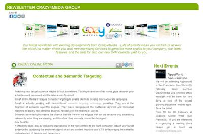 crazy4media newsletter