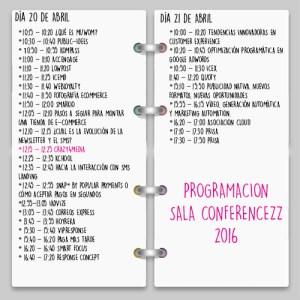 Calendario Conferencezz- Futurizz 2016