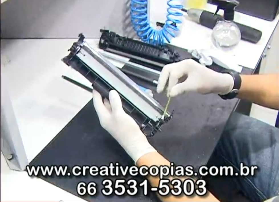 Contatos PCR do toner CE285A