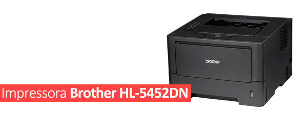 Impressora Brother HL-5452DN