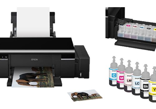 Impressora Epson Inkjet Photo L800