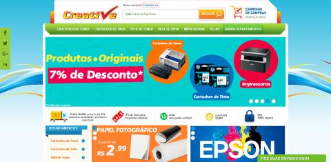 Creative Cópias: A maior loja de suprimentos e remanufaturas para impressoras da internet!