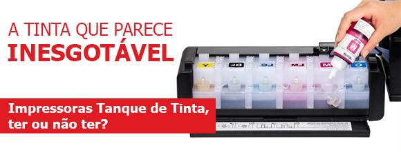 Impressora tanque de tinta: ter ou não ter?