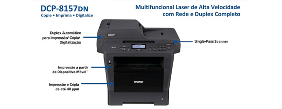 Impressora Brother DCP-8157