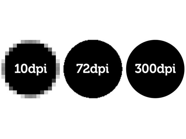 Diferenças entre valores de DPI para impressão e scaner