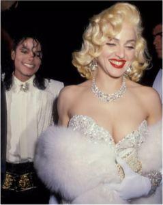 Madonna e Michael Jackson