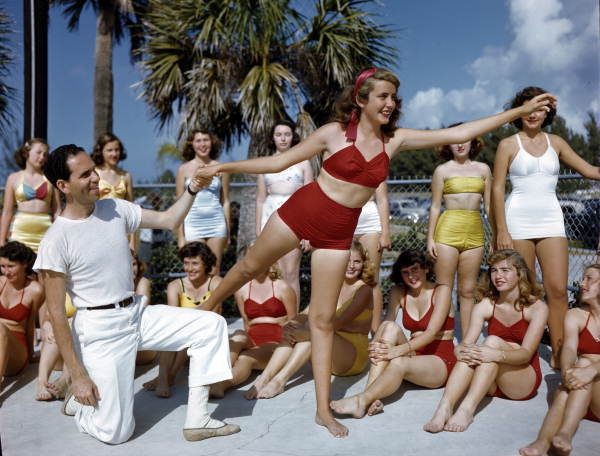 Image result for 1950s beach girls