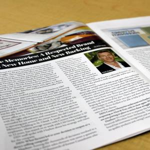Creative Memories Featured in Direct Selling Magazine
