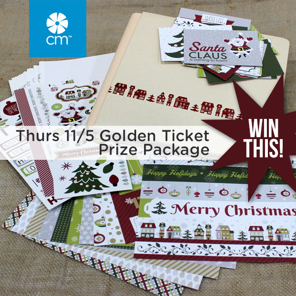 Thursday Golden Ticket Prize Package