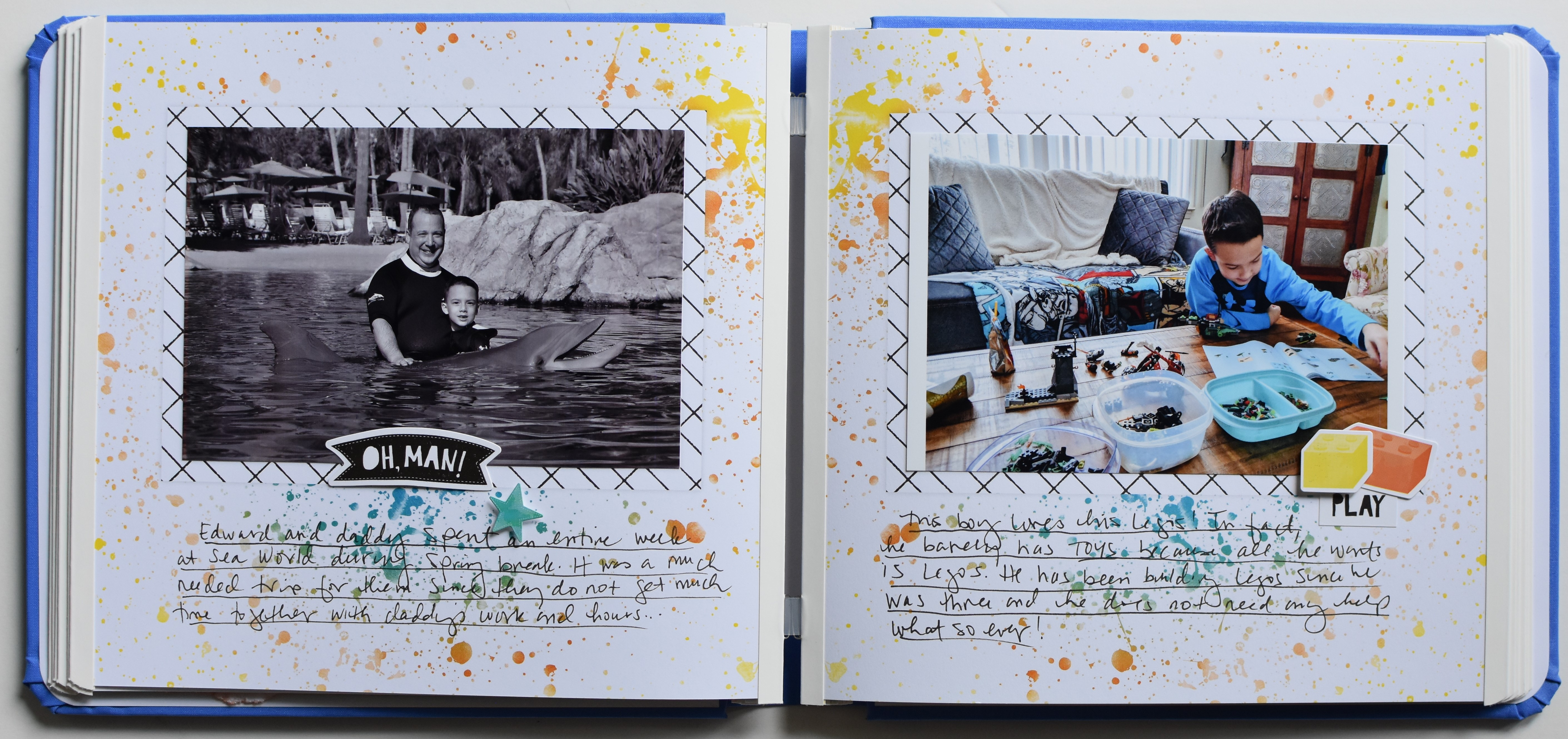 Creative Memories Super Duper Boy Collection
