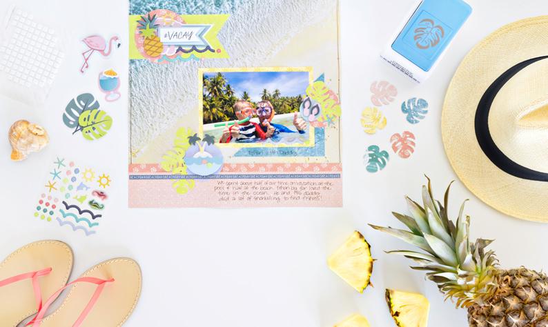 Sun-Kissed-Leaf-Punch-Tropical-Travel-Creative-Memories