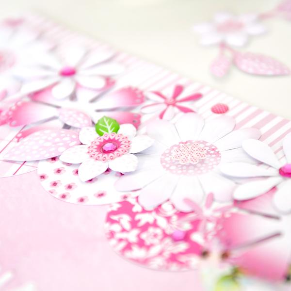Mix-Match-Pink-Flower-Scrapbook-Layout-Creative-Memories1