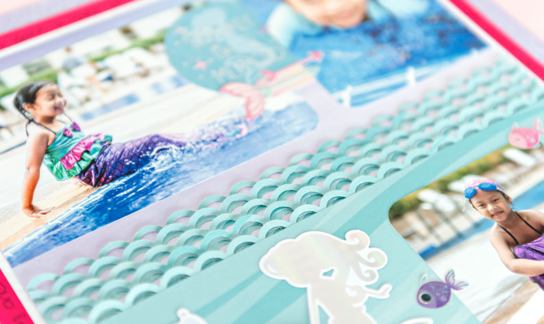 Mermaid-Scrapbook-Layout-Ideas-Creative-Memories