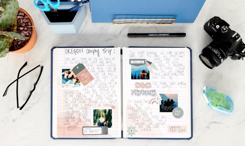 Happy-Album-Premade-Scrapbook-Supplies-Creative-Memories