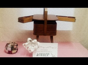 Winner of the sewing box