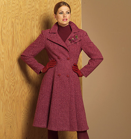 Croft Mill Coat Patterns Vogue
