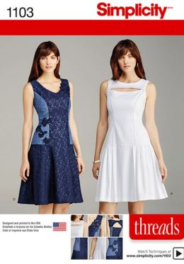 Party Dress Sewing Pattern - Simplicity 1103