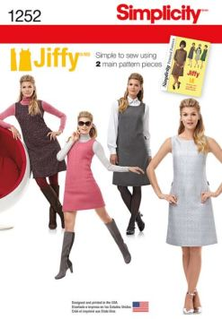 Party Dress Sewing Pattern - Simplicity 1252