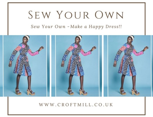 Make yourself a happy dress