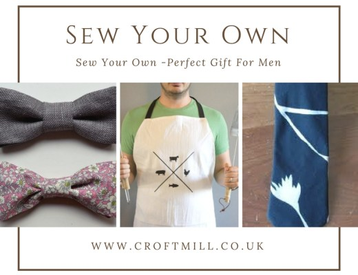 Sew the perfect gift for men