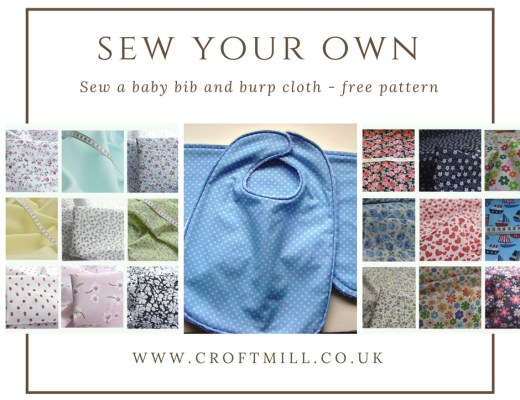 Sew your own - croft mill fabrics