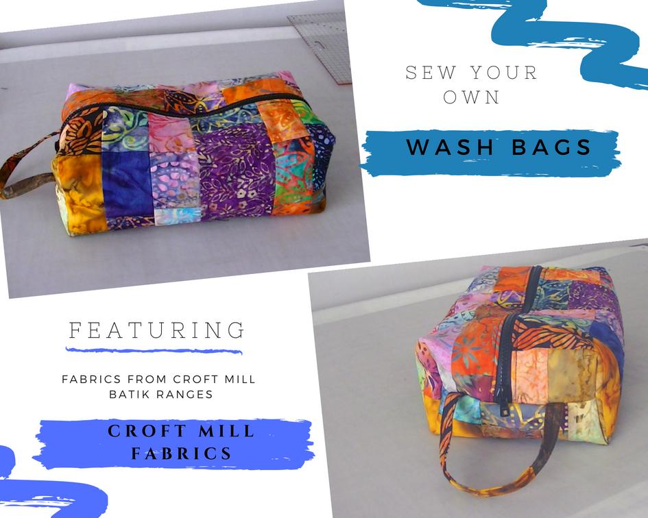 Batik wash bag