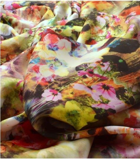 Silky Satin - Little Mix - Flowers