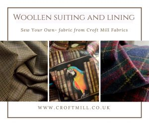 croft mill fabrics woollen suiting