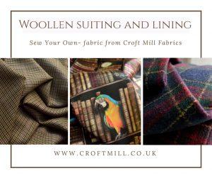 croft mill fabrics woollen suiting