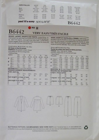 Croft Mill Sew A Long B6442 from Butterick