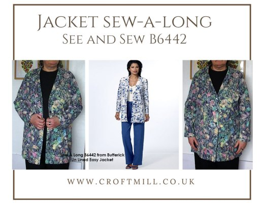 croft mill sew a long See and Sew B6442