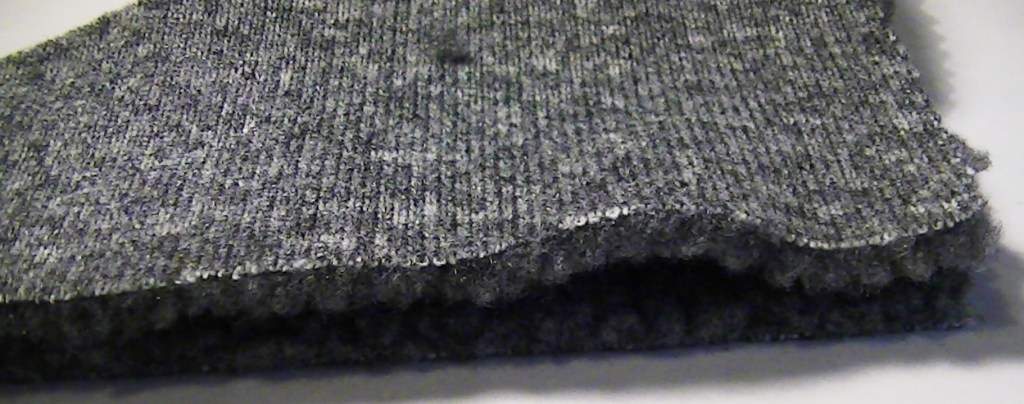 Place fleece right side to right side