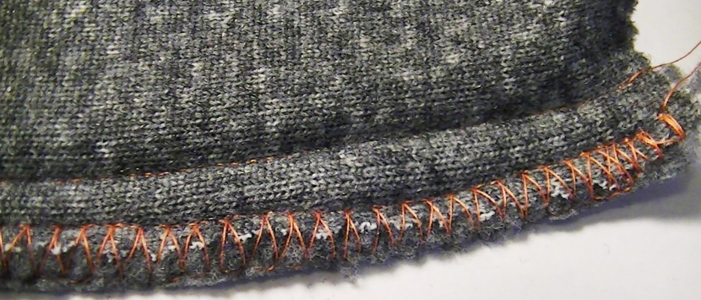 You ca zig zag or use and overlock stitch to make it less bulky.