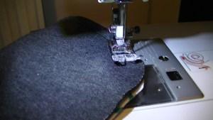Sew 1cm seam allowance