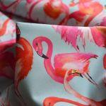 john-louden-canvas-flamingos-pale-dull-blue-flamingos-john-louden-canvas-fabric