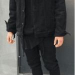 Black Denim-mens wear