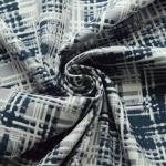 Gotham- Cotton Poplin- Geometric-Abstract-Dress Faric