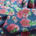Heavenly -The Decendants - Tropical Floral Mid Blue